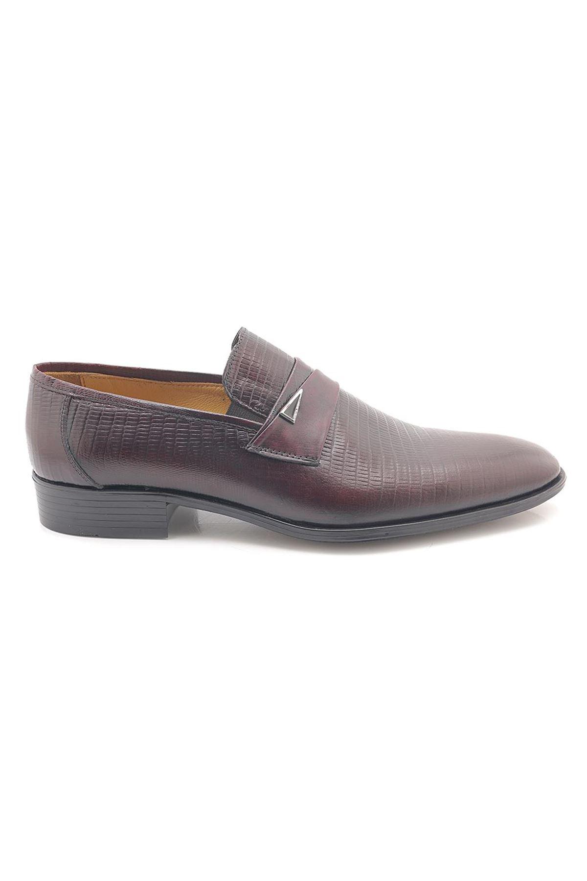 Jest Club U881 Hakiki Deri Klasik Erkek Ayakkabı