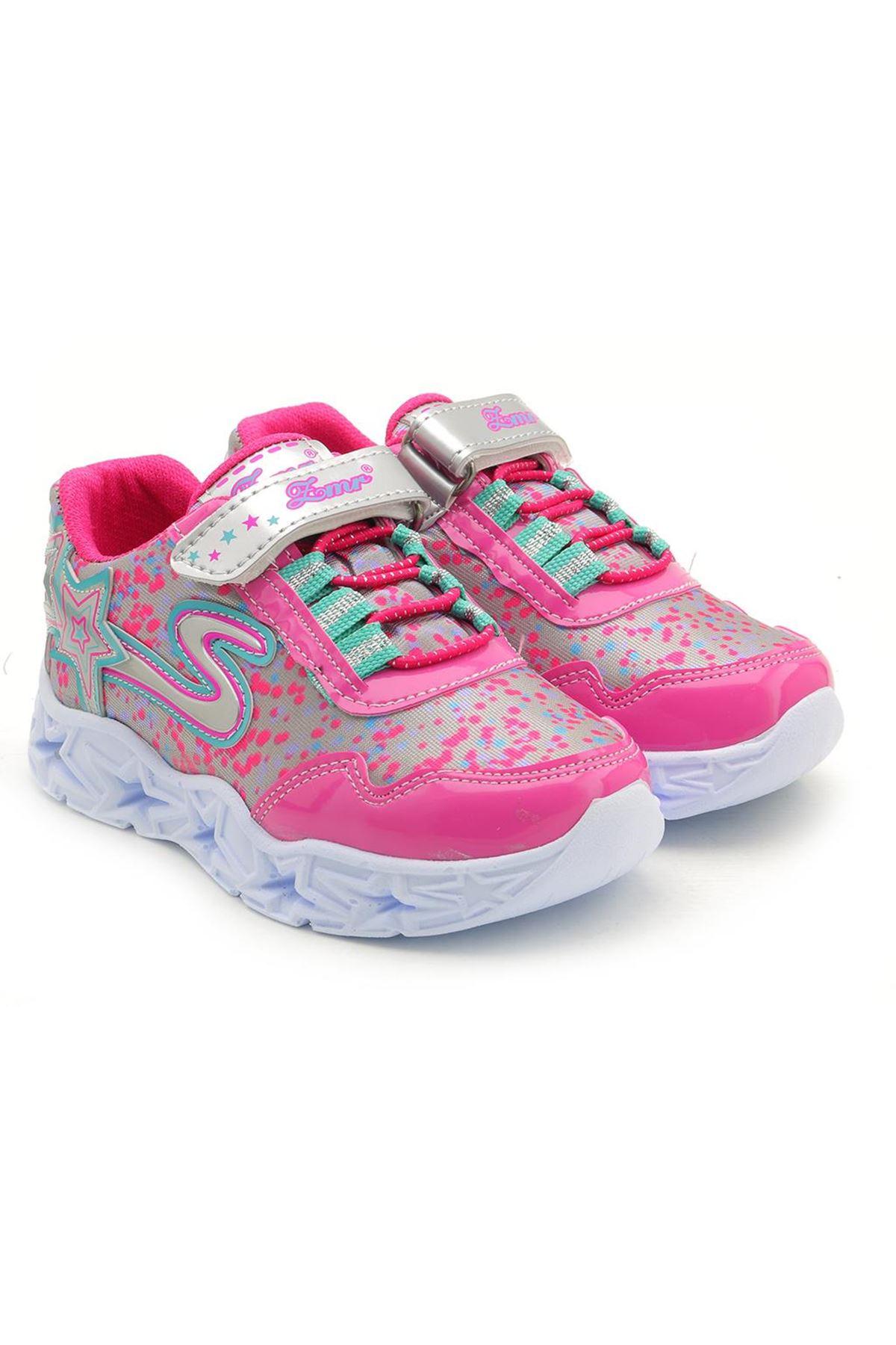 Kids World H800 Kız Çocuk Abiye Topuklu Ayakkabı