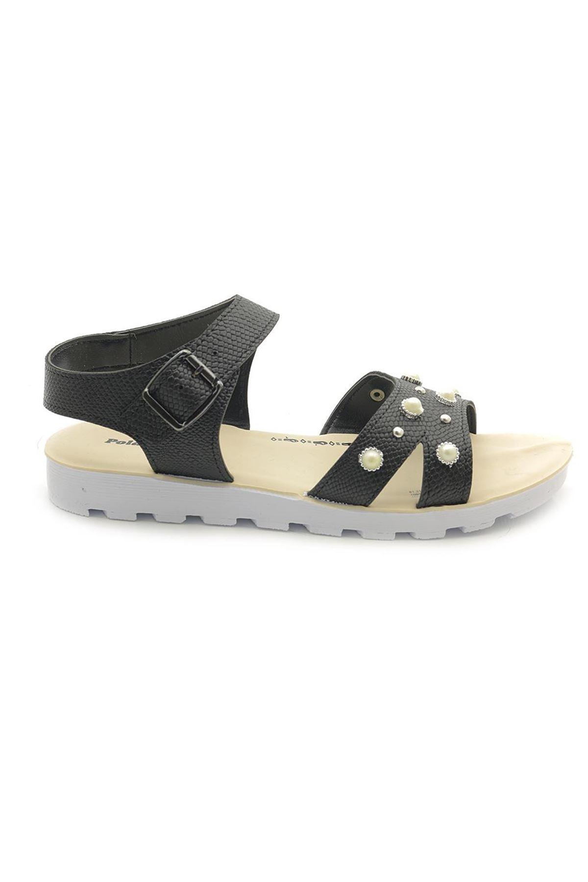 Polaris 30022 Taşlı Günlük Sandalet