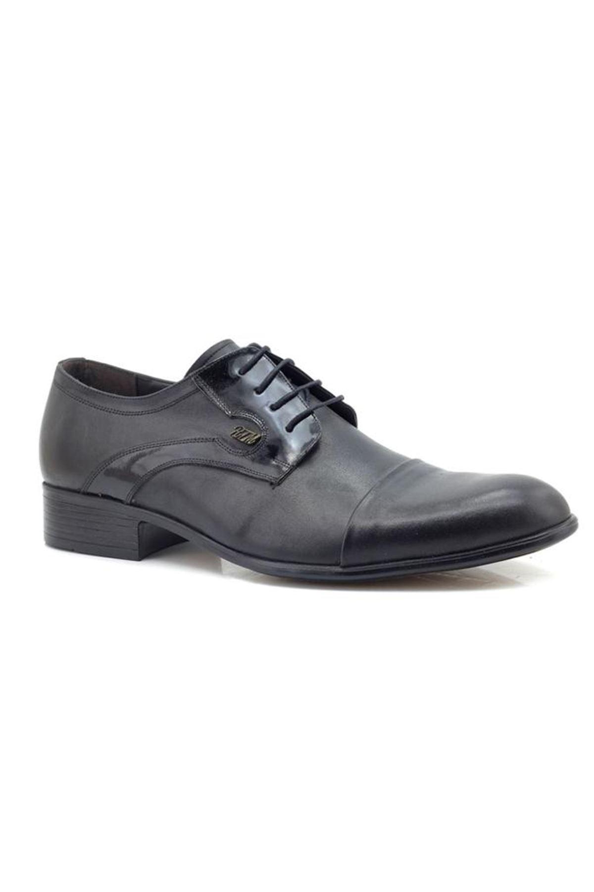 Özel Üretim Klasik Hakiki Deri Büyük Numara Erkek Ayakkabı