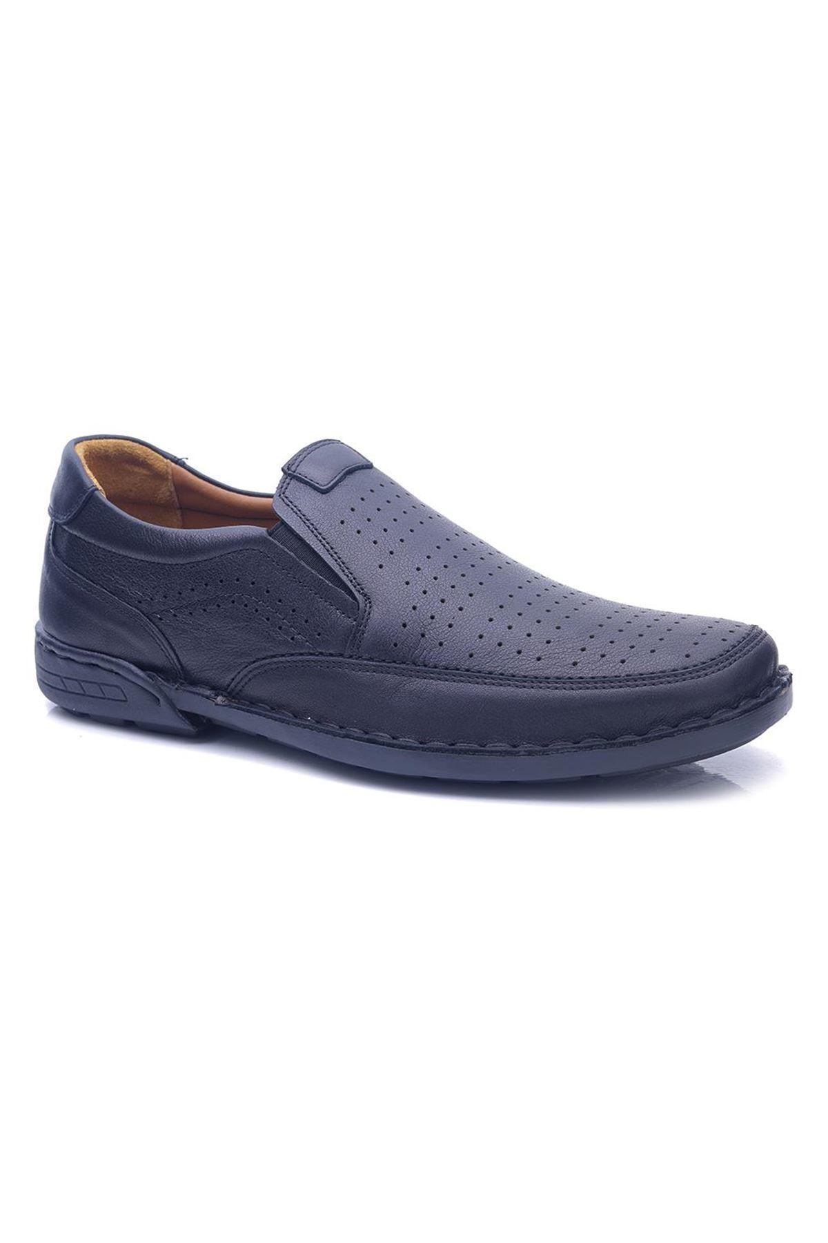 Polaris Ortopedik Hakiki Deri Erkek Ayakkabı