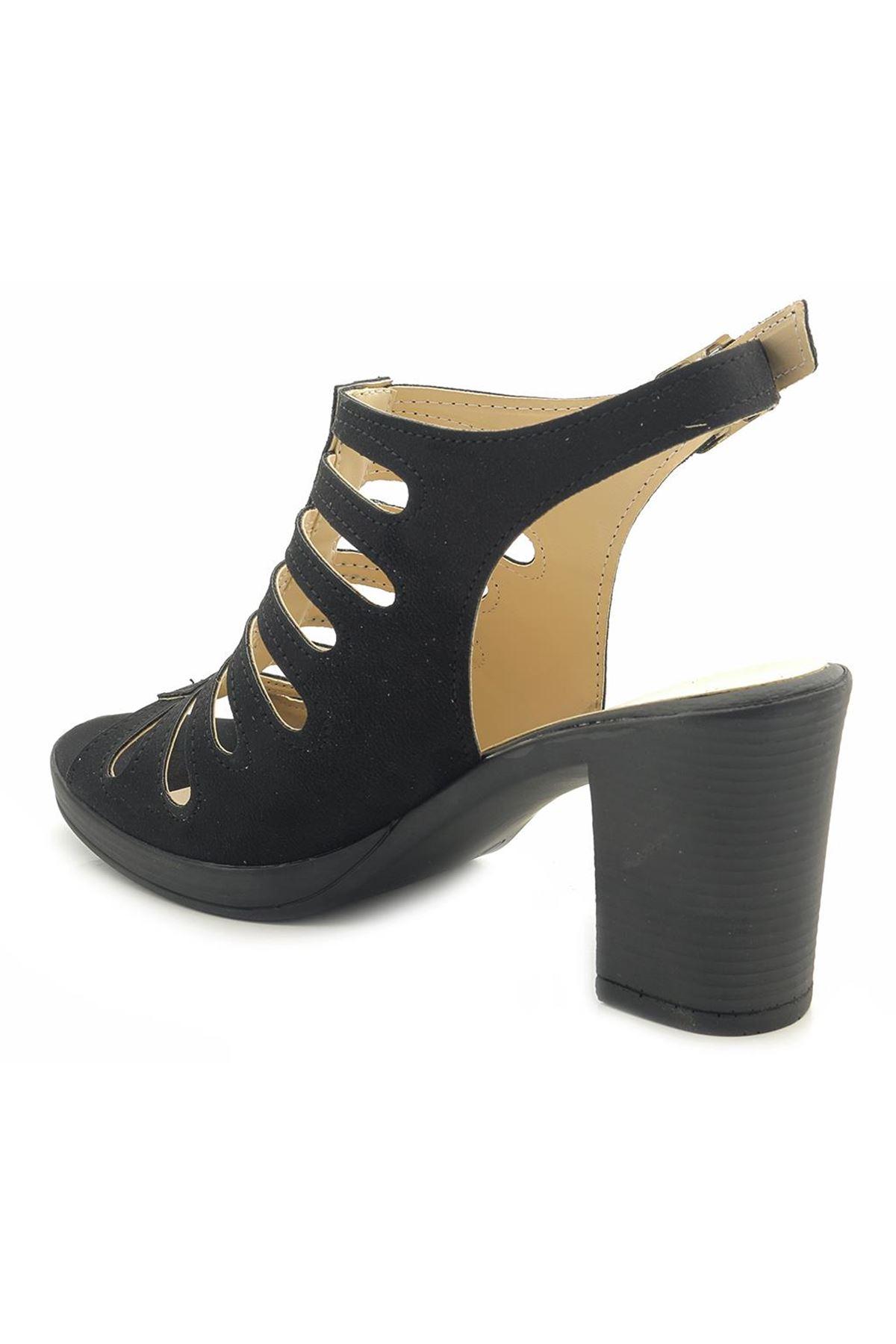 Fantasy U8544 Kafes Model Topuklu Kadın Ayakkabı