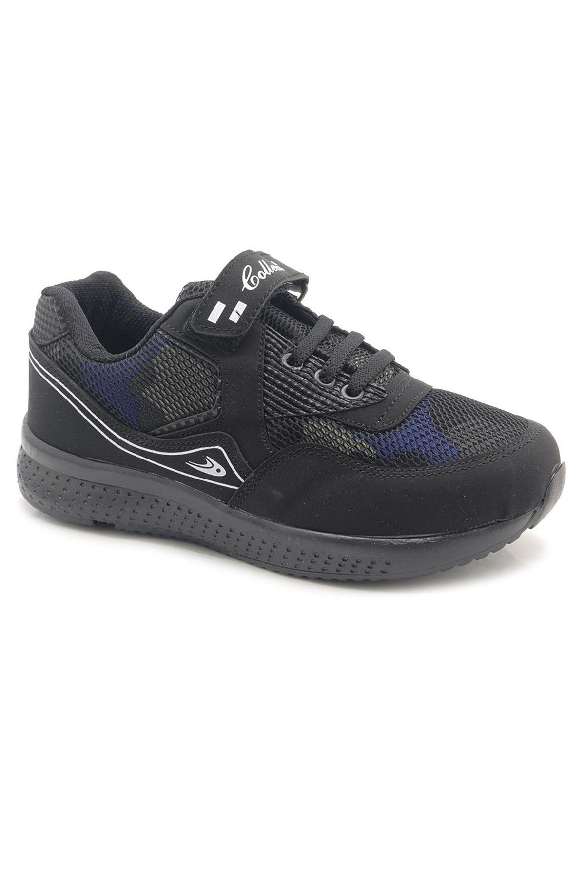 SportKid 3200 Siyah Günlük Çocuk Spor Ayakkabı