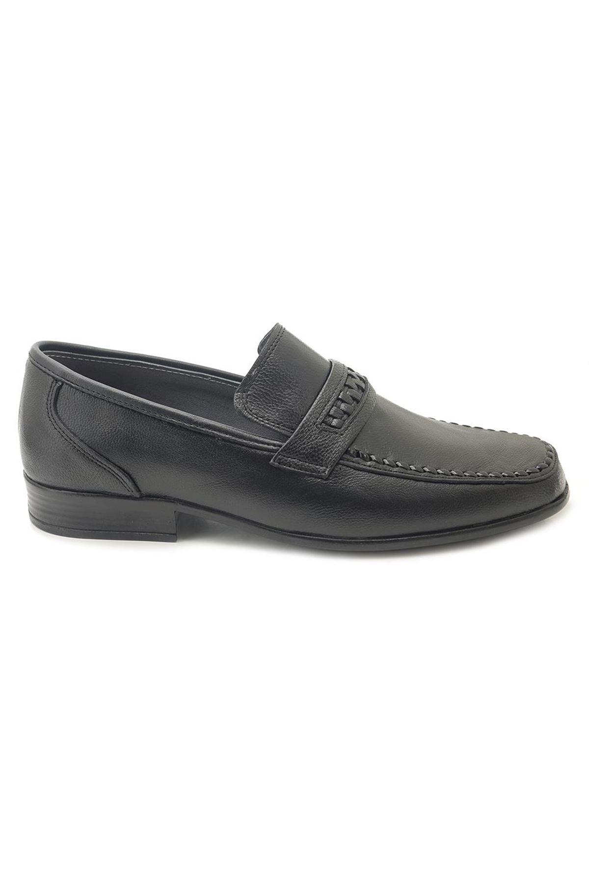 Flies Hakiki Deri Rok Yumuşak Erkek Klasik Ayakkabı