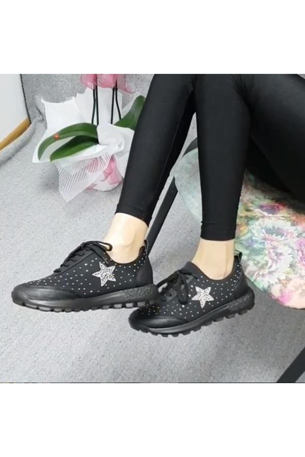 Lady 320W00 Günlük Comfort Streç Kadın Spor Ayakkabı