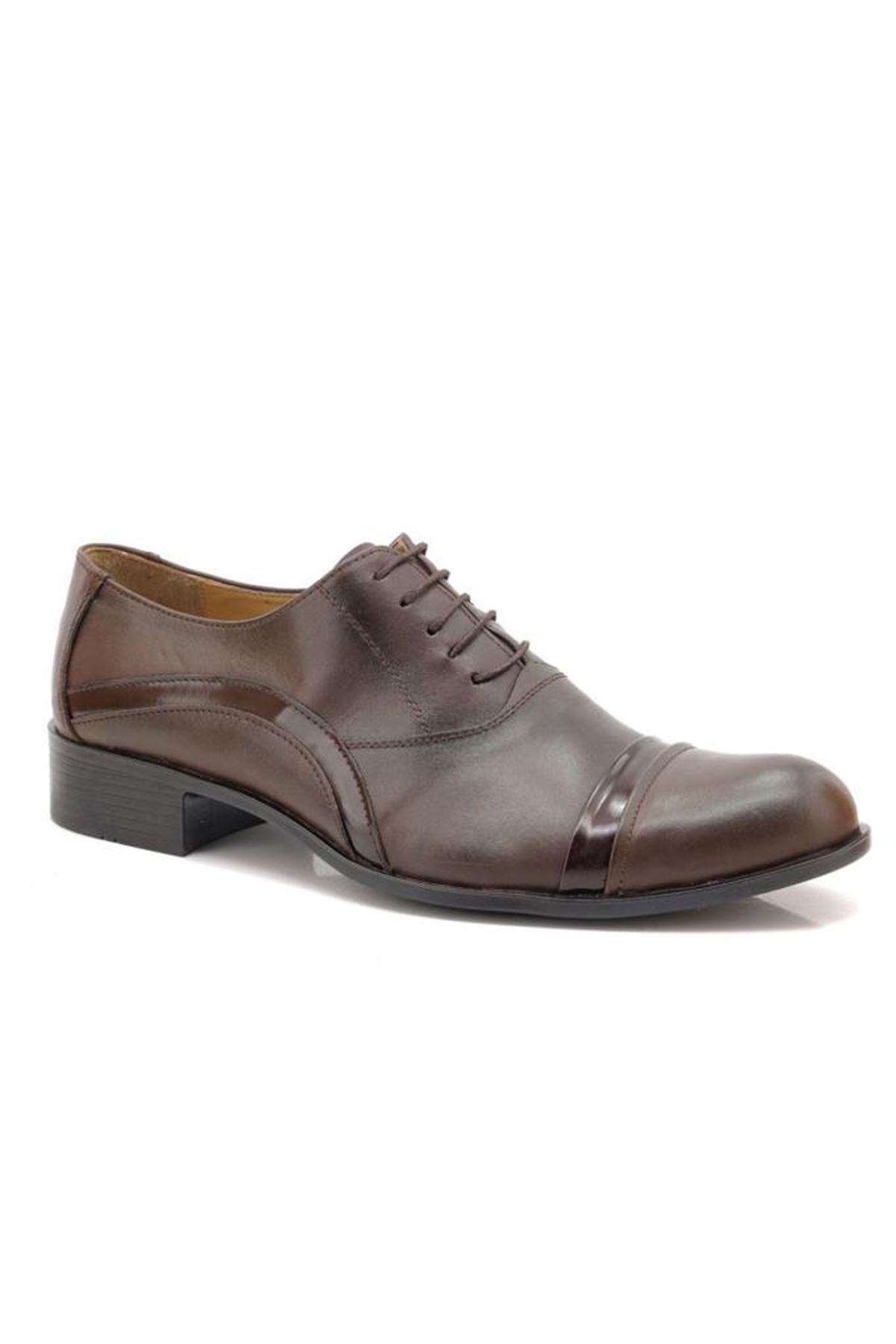 Sancappo Kahve Ruganlı Günlük Ayakkabı
