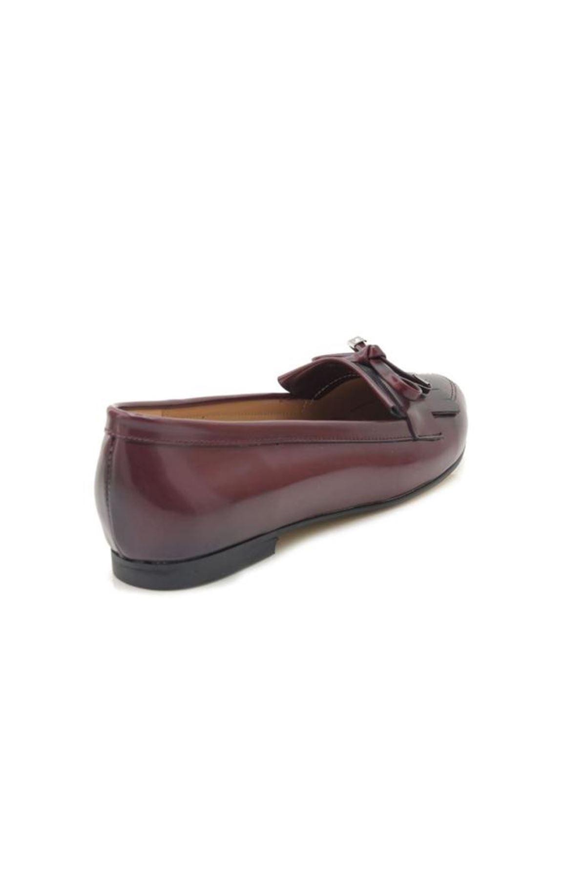 Capriss 01252-09 Bordo Corcik Ayakkabı