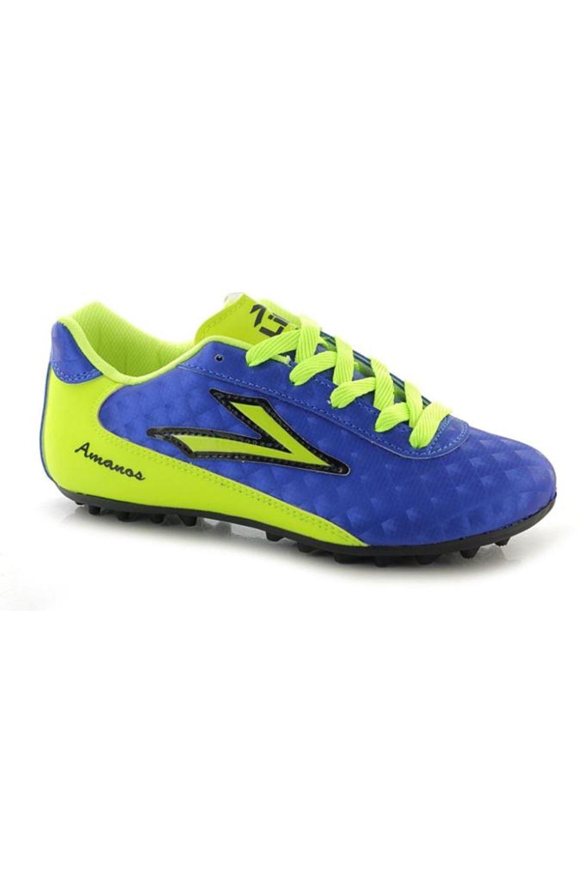 Lig Amanos Mavi Halısaha Spor Ayakkabı
