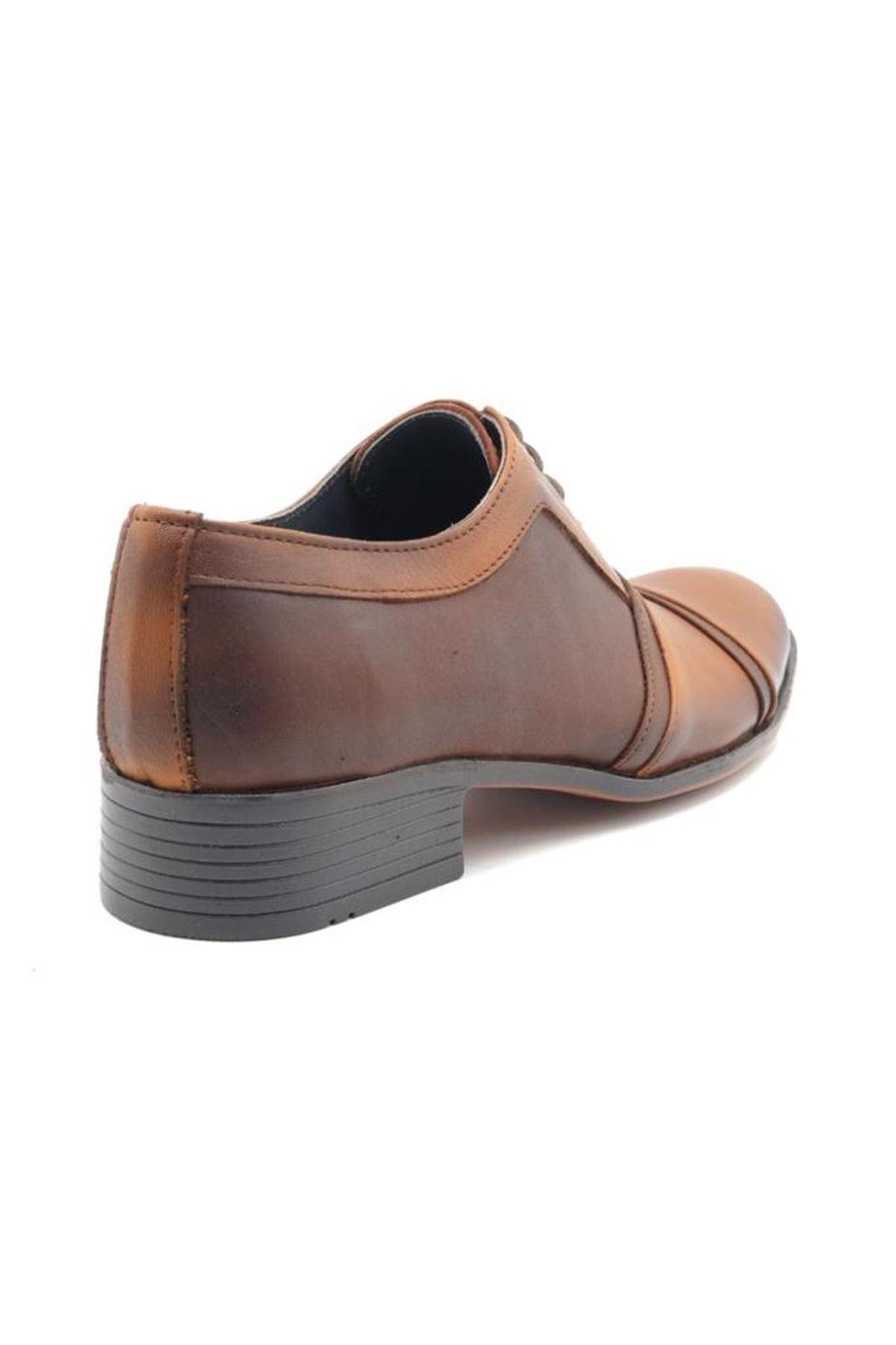 Özel Üretim Küçük Numara Erkek Klasik Ayakkabı