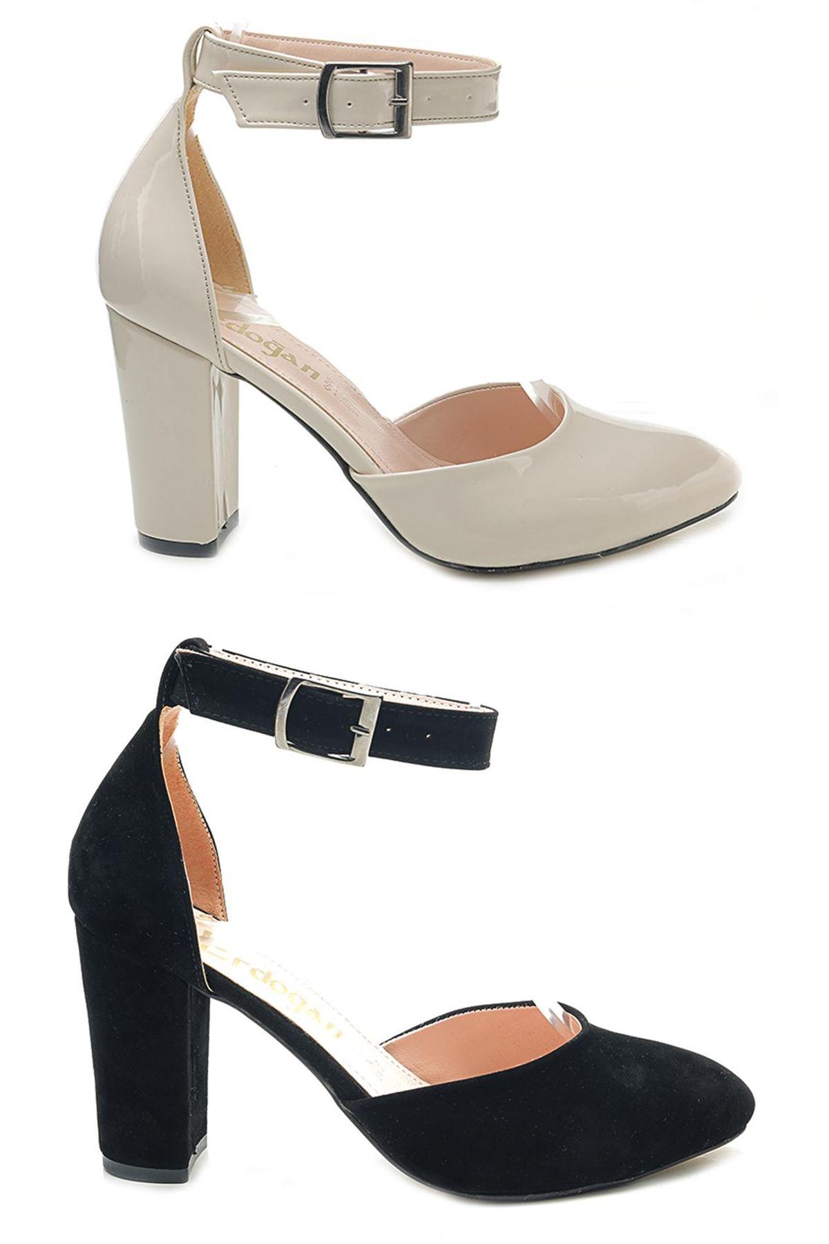 Lady W8520 Kalın Topuk Günlük Bayan Ayakkabı