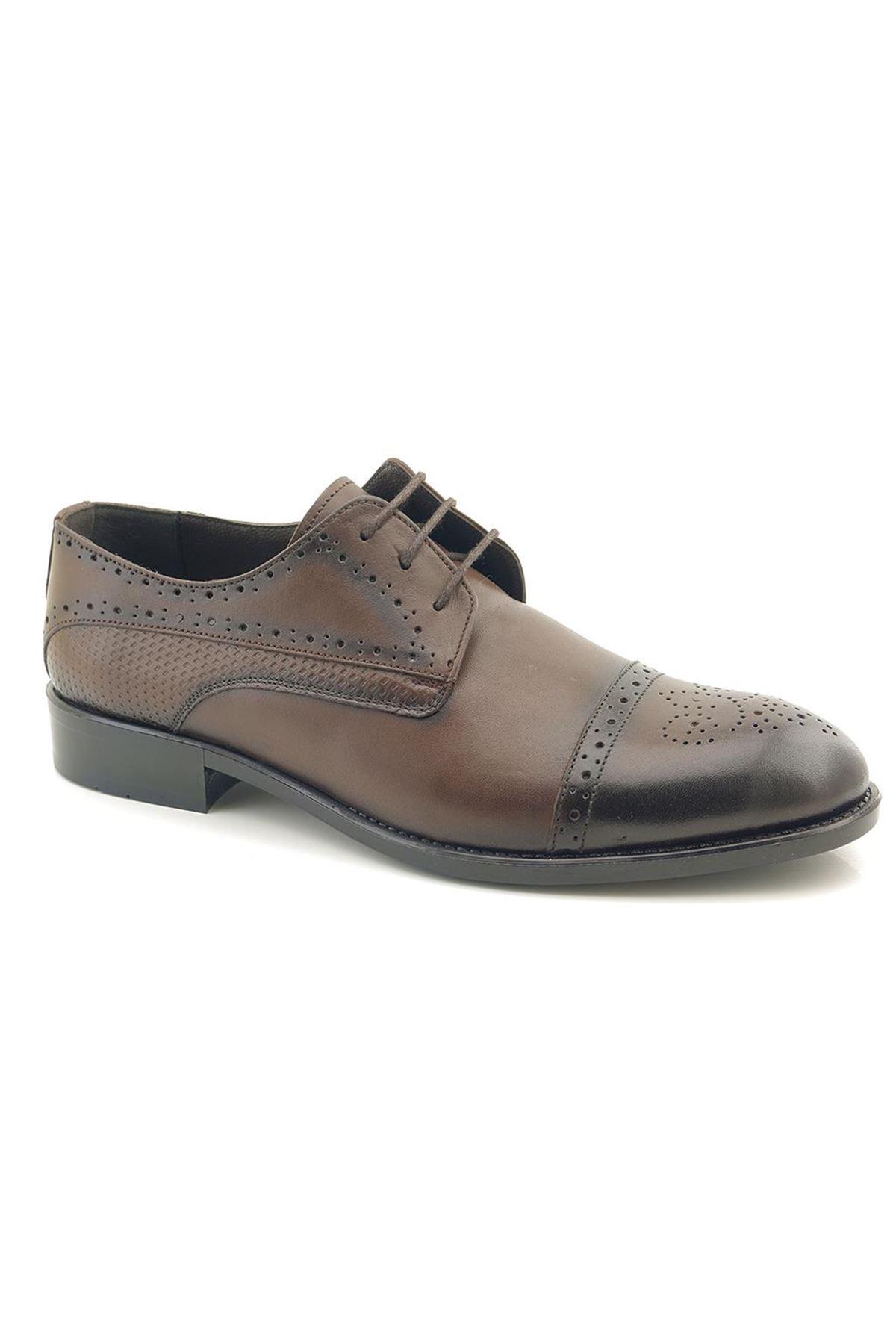 Fecri Hüner K01232 Hakiki Deri Klasik Ayakkabı