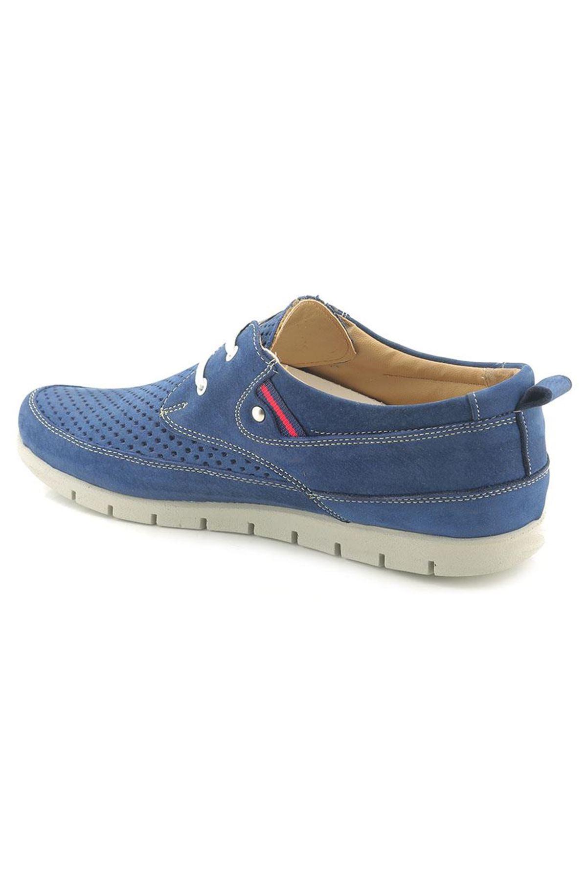 Man 3310 Nubuk Hakiki Deri Günlük Erkek Ayakkabı