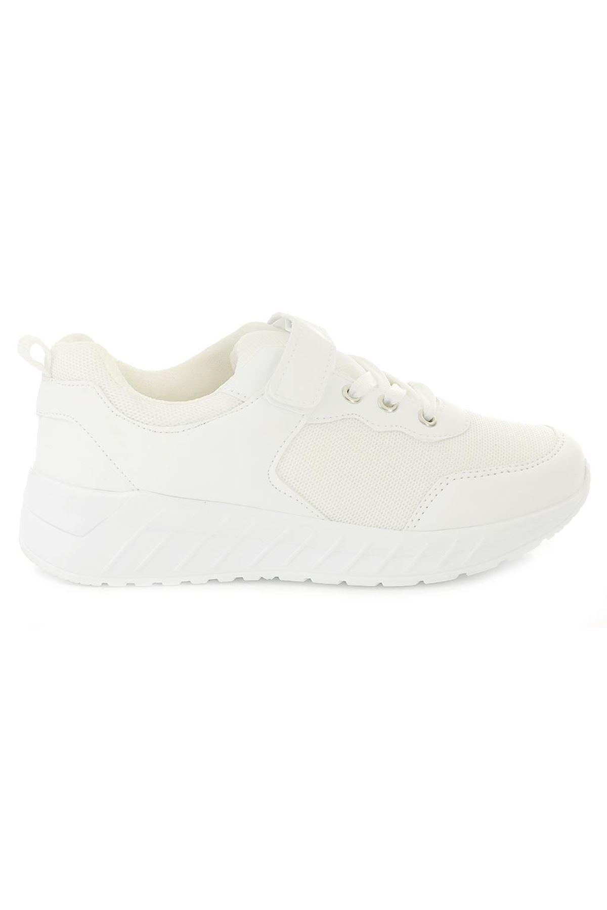 Rolax 0032 Beyaz Erkek Çocuk Spor Ayakkabı
