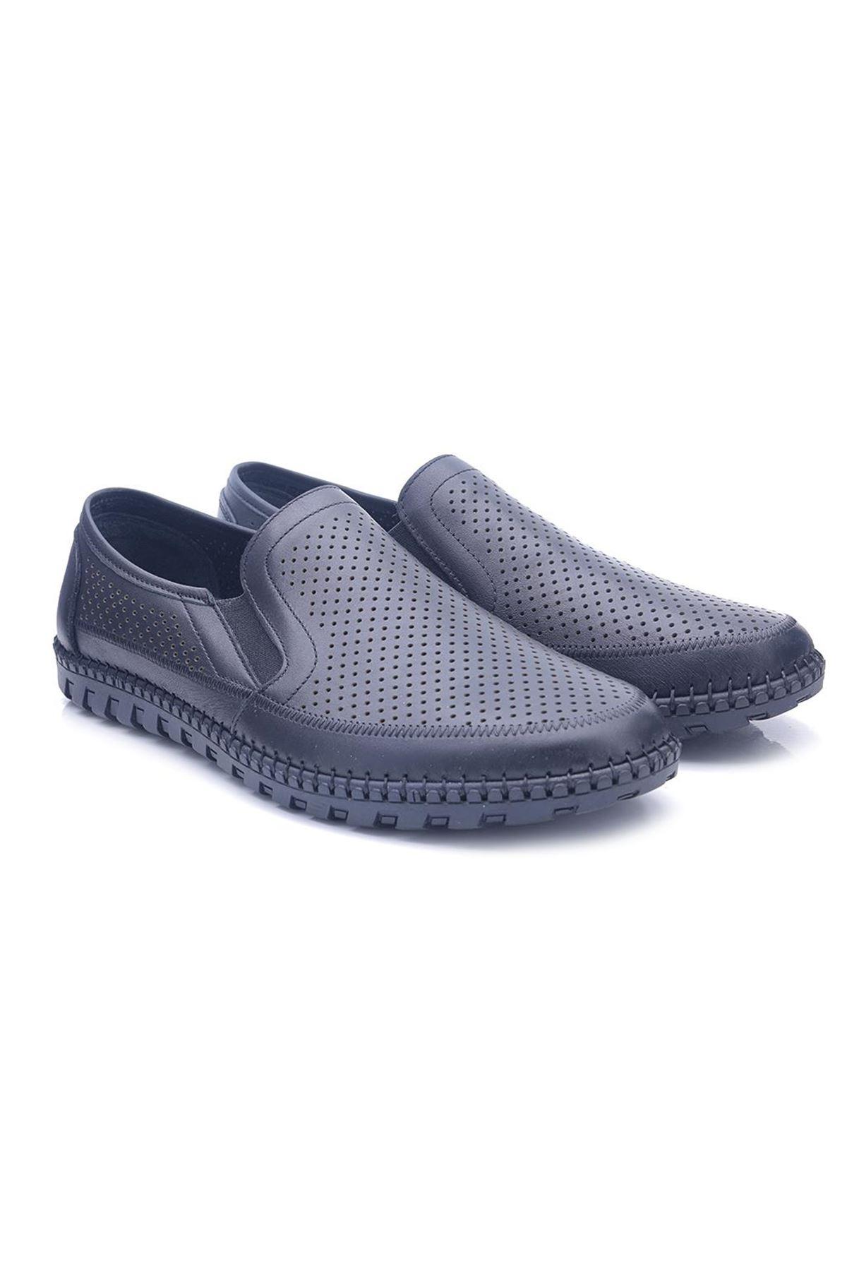Polaris 110222 Delikli Ortopedik Erkek Ayakkabı