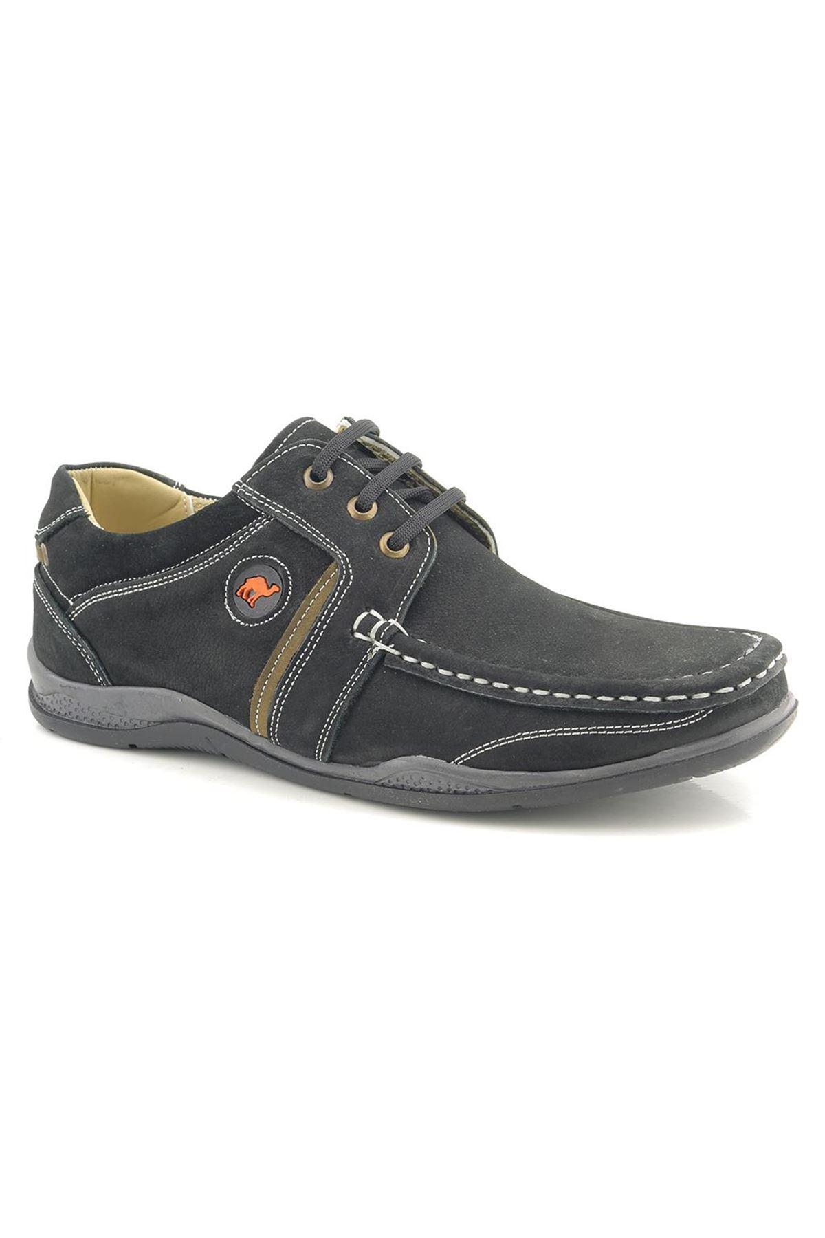 Bes Hakiki Analin Nubuk Deri Günlük Erkek Ayakkabı