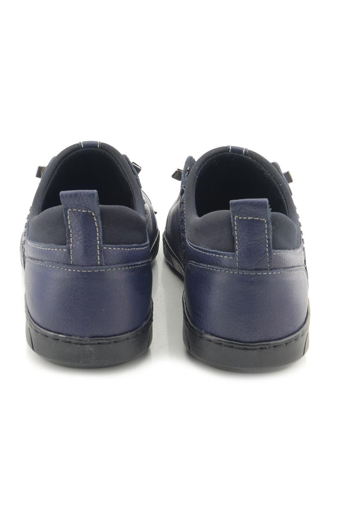 Man Hakiki Deri Fashion Erkek Casual Ayakkabı