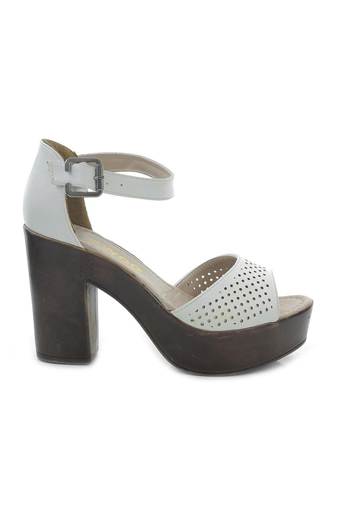 Awon Alyssa Topuklu Günlük Kadın Sandalet