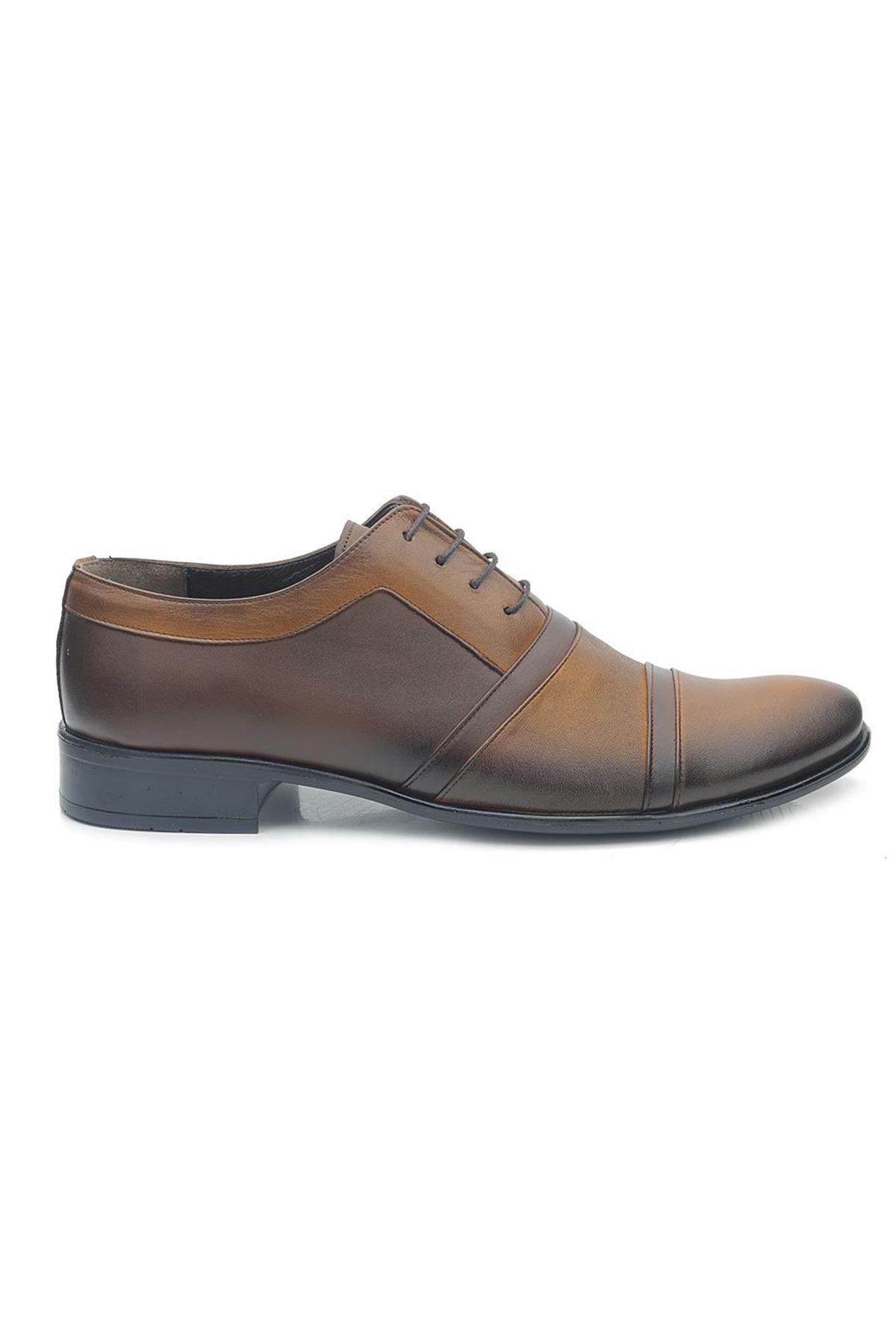 Man M010 Hakiki Deri Klasik Erkek Ayakkabı