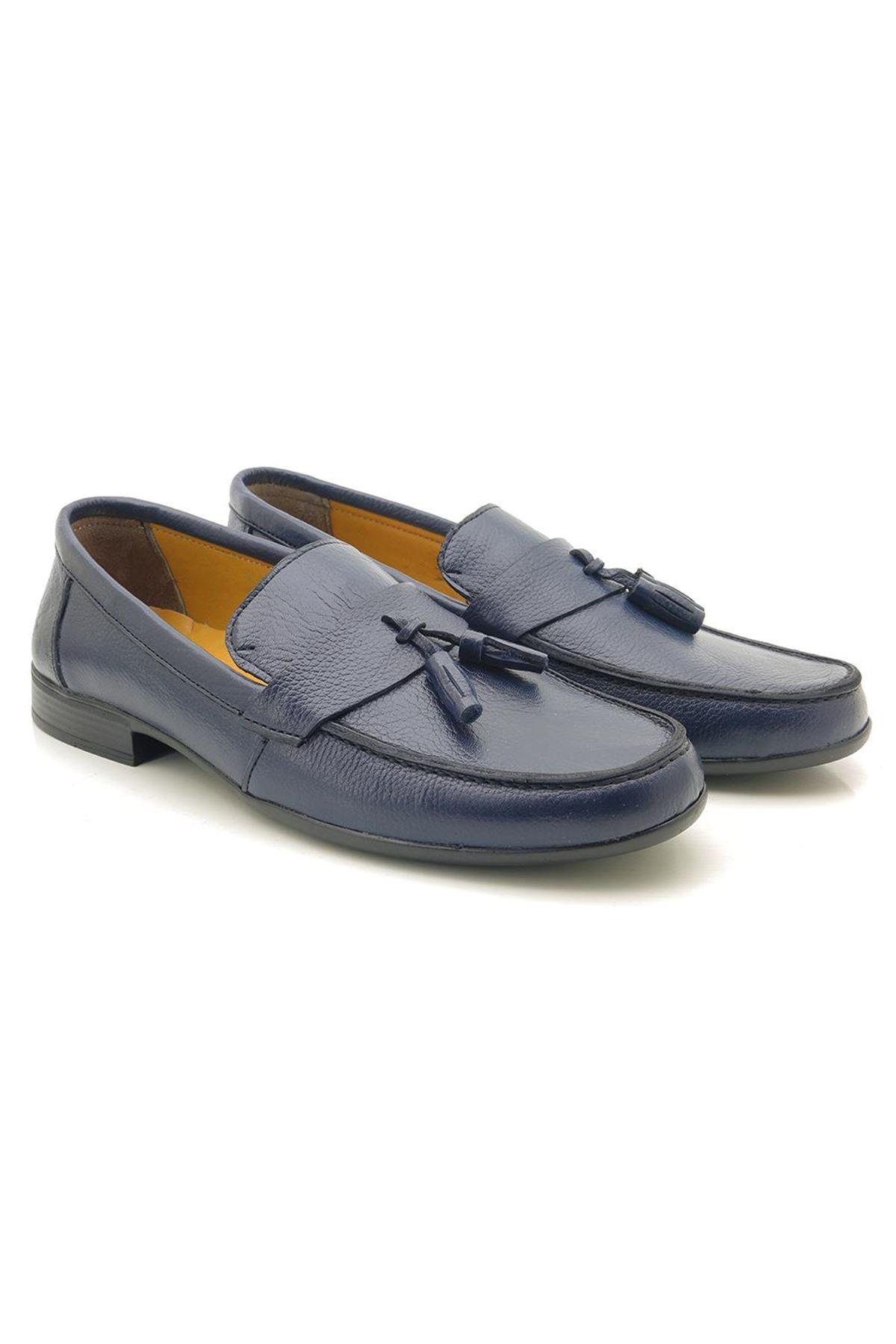 Loafer Püsküllü 6001 Hakiki Deri Erkek Ayakkabı