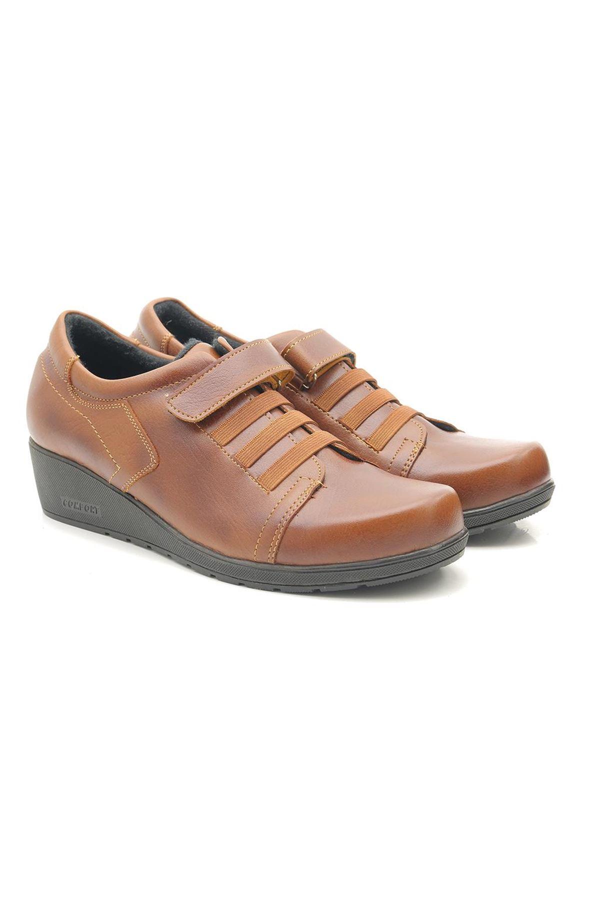 Lady Cırt Cırtlı Günlük Comfort Kadın Ayakkabı