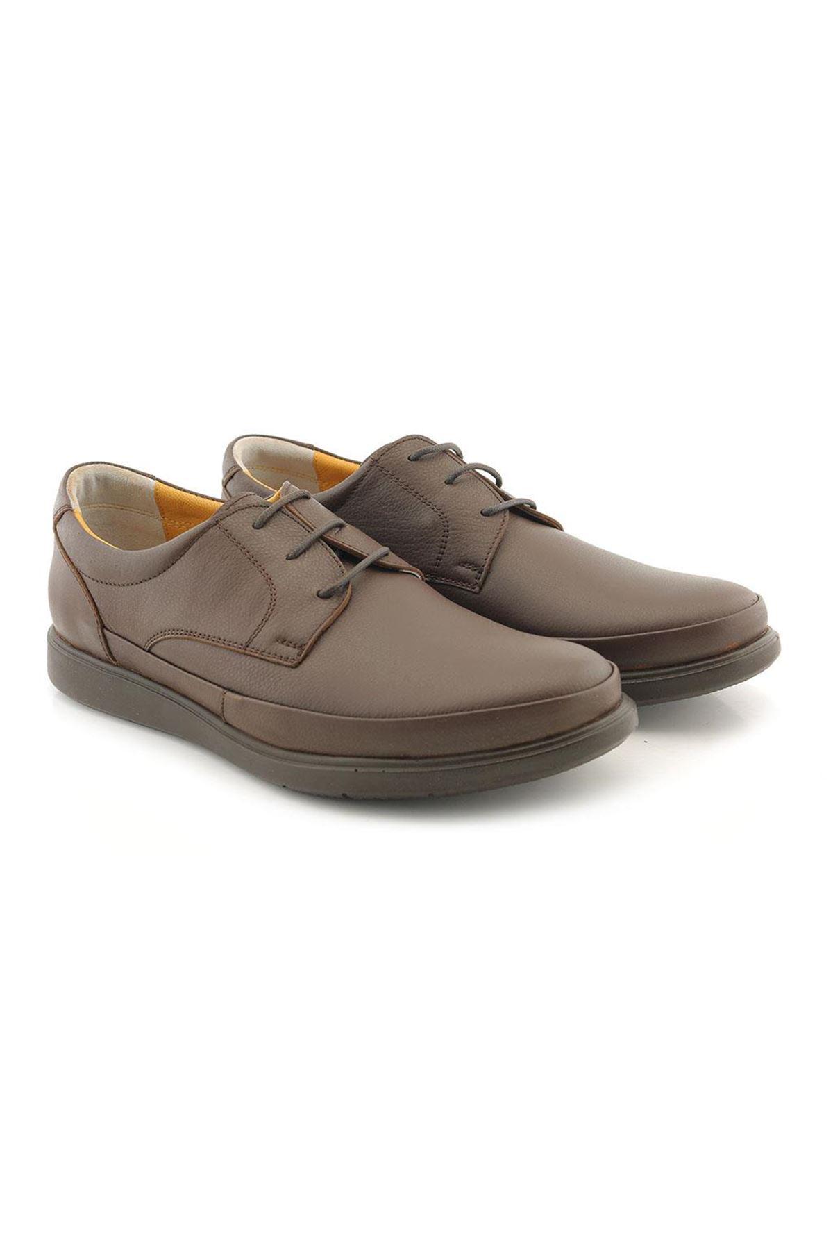 Meros 303 Hakiki Deri İç Dış Anatomik Erkek Ayakkabı