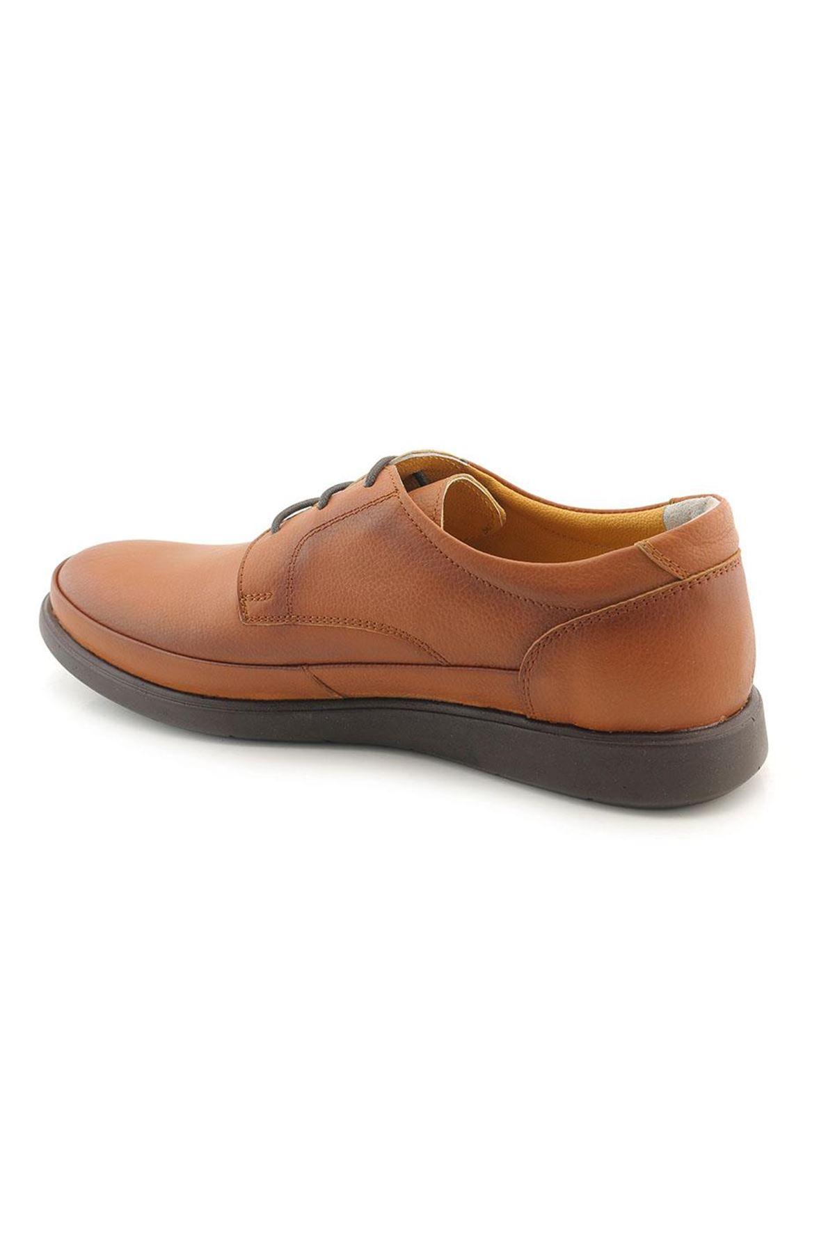 Meros 301 Hakiki Deri İç Dış Anatomik Erkek Ayakkabı