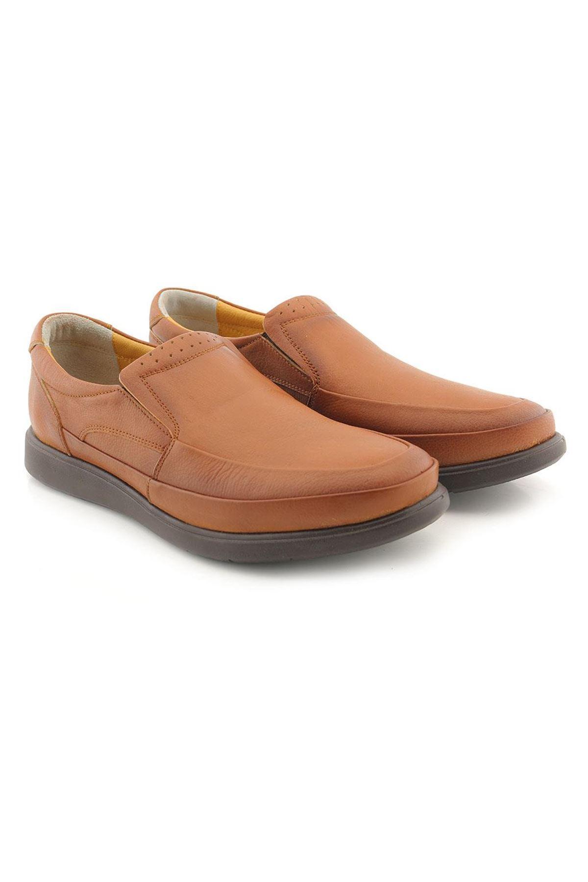 Meros 302 Hakiki Deri İç Dış Anatomik Erkek Ayakkabı