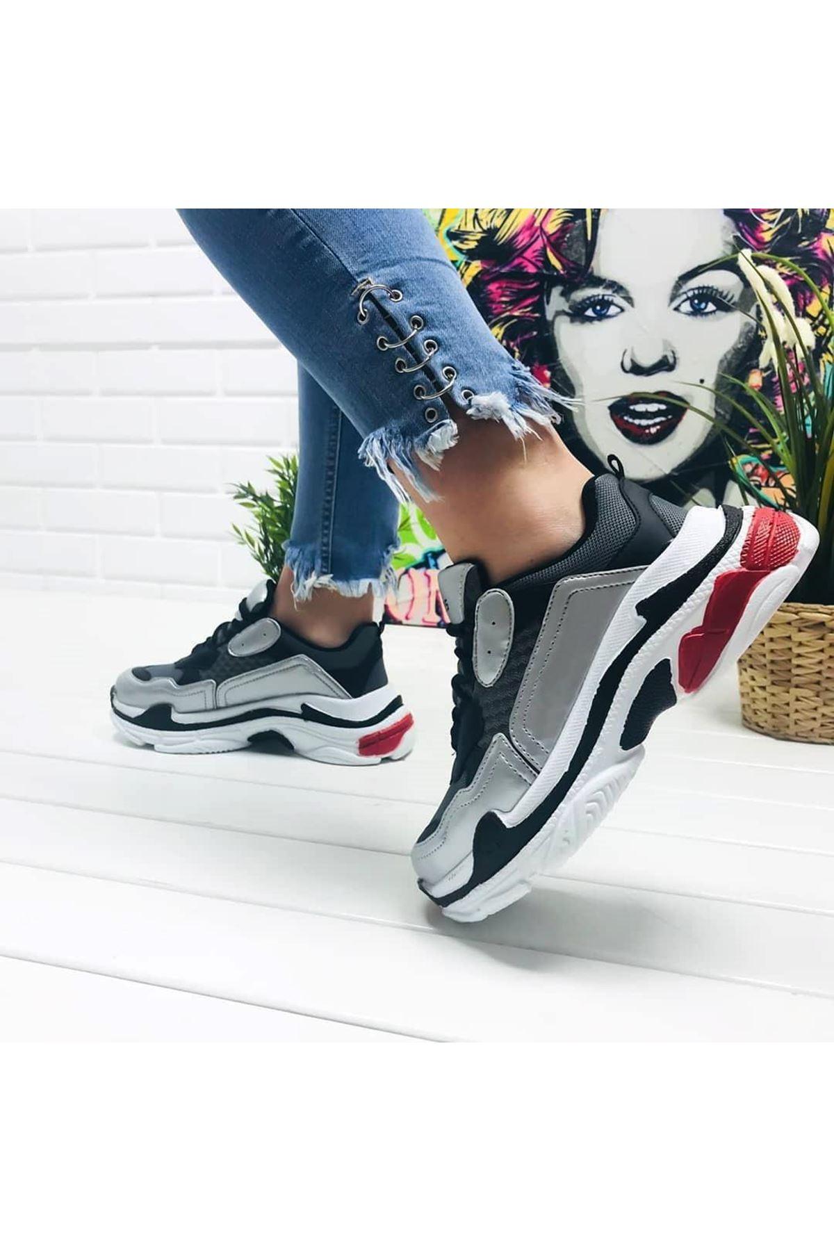 Lady Yüksek Taban Kadın Spor Ayakkabı
