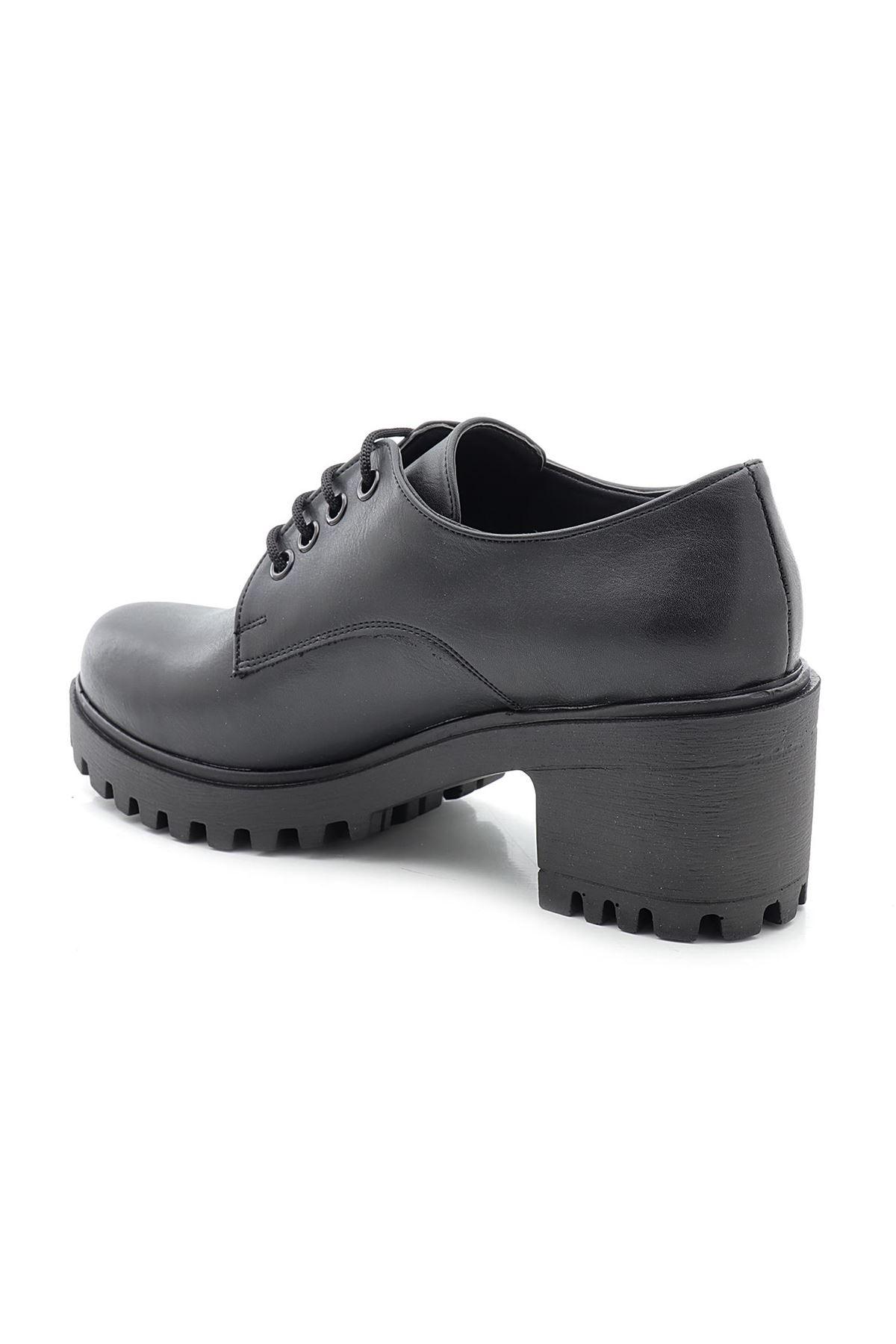Lady 900-A Alçak Topuk Günlük Sade Model Kadın Ayakkabı