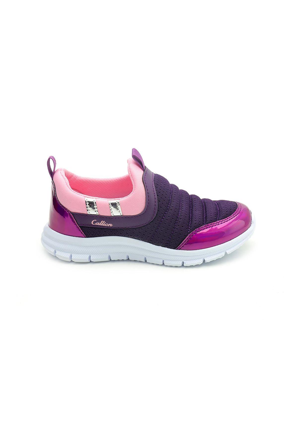 Kids World Bağcıksız Anatomik Kız Çocuk Spor Ayakkabı