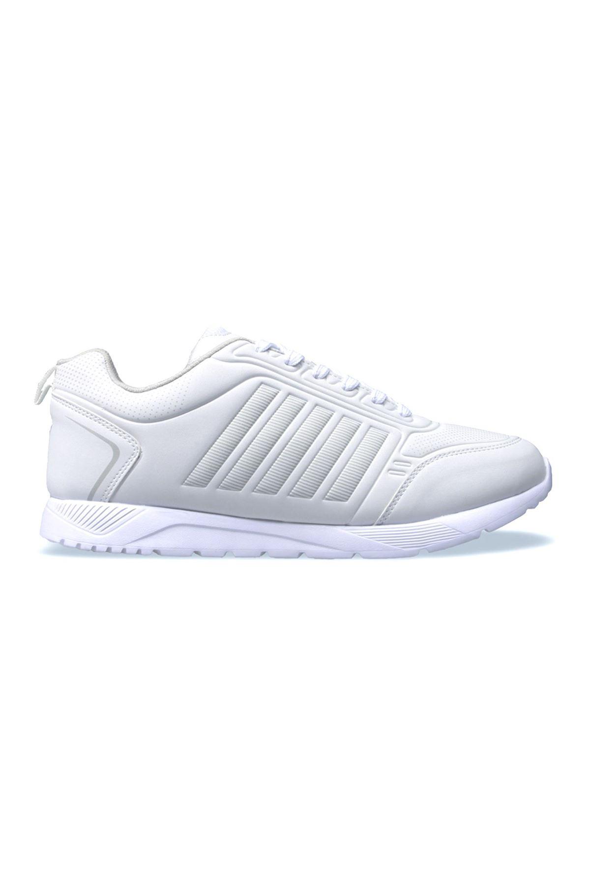 MP 501232 White Edition Erkek Günlük Beyaz Spor Ayakkabı